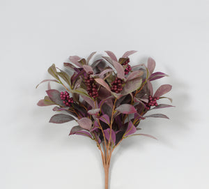 "AS32981 20"" LAUREL/BERRY BUSH PURPLE"