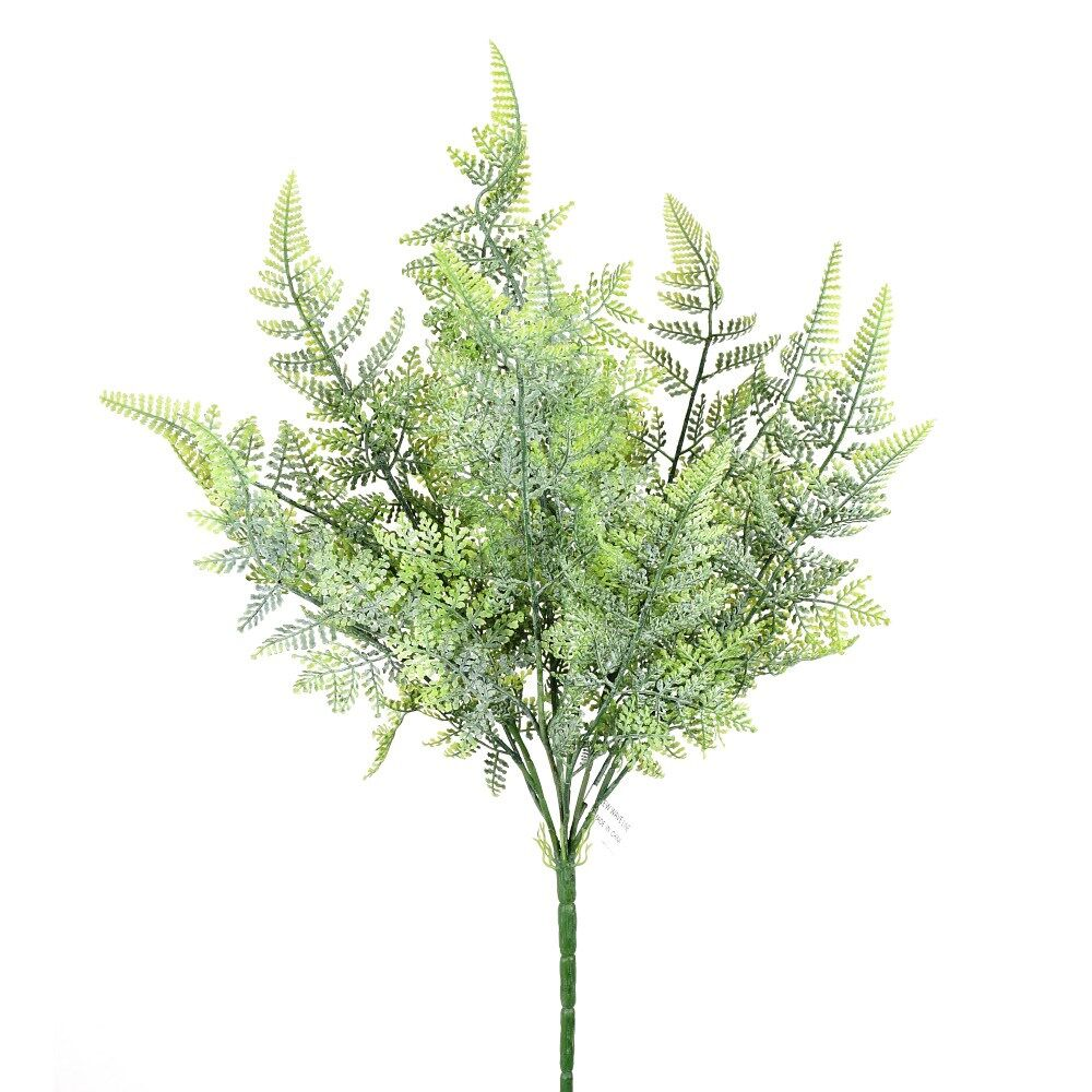 "D288151 DUSTY GREEN 20"" FERN BUSH"