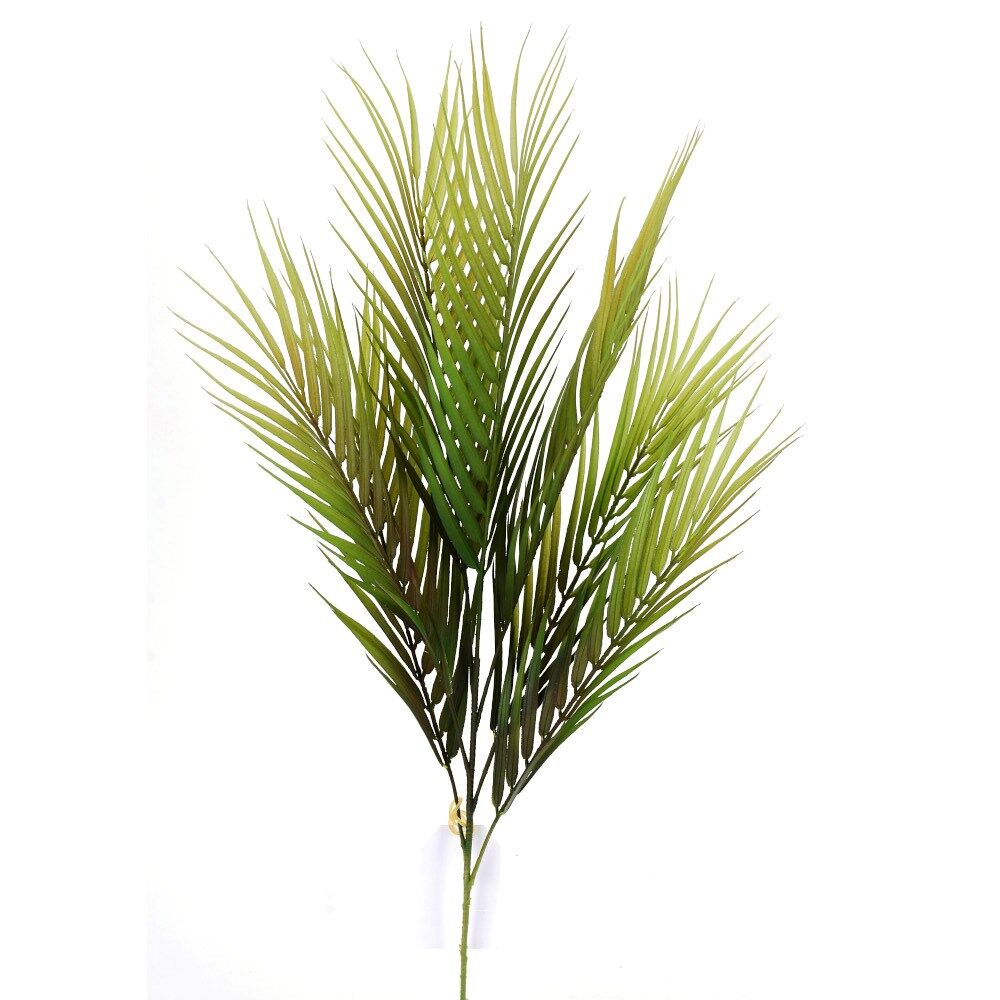 "D288178 GREEN/BURG 28"" PALM SPRAY"