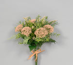 "AF2535 PEACH 13"" QUEEN ANNE'S LACE"