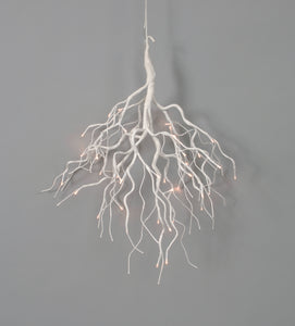 "AH58746 WHI - 28"" Hanging Branches w/ Lights"