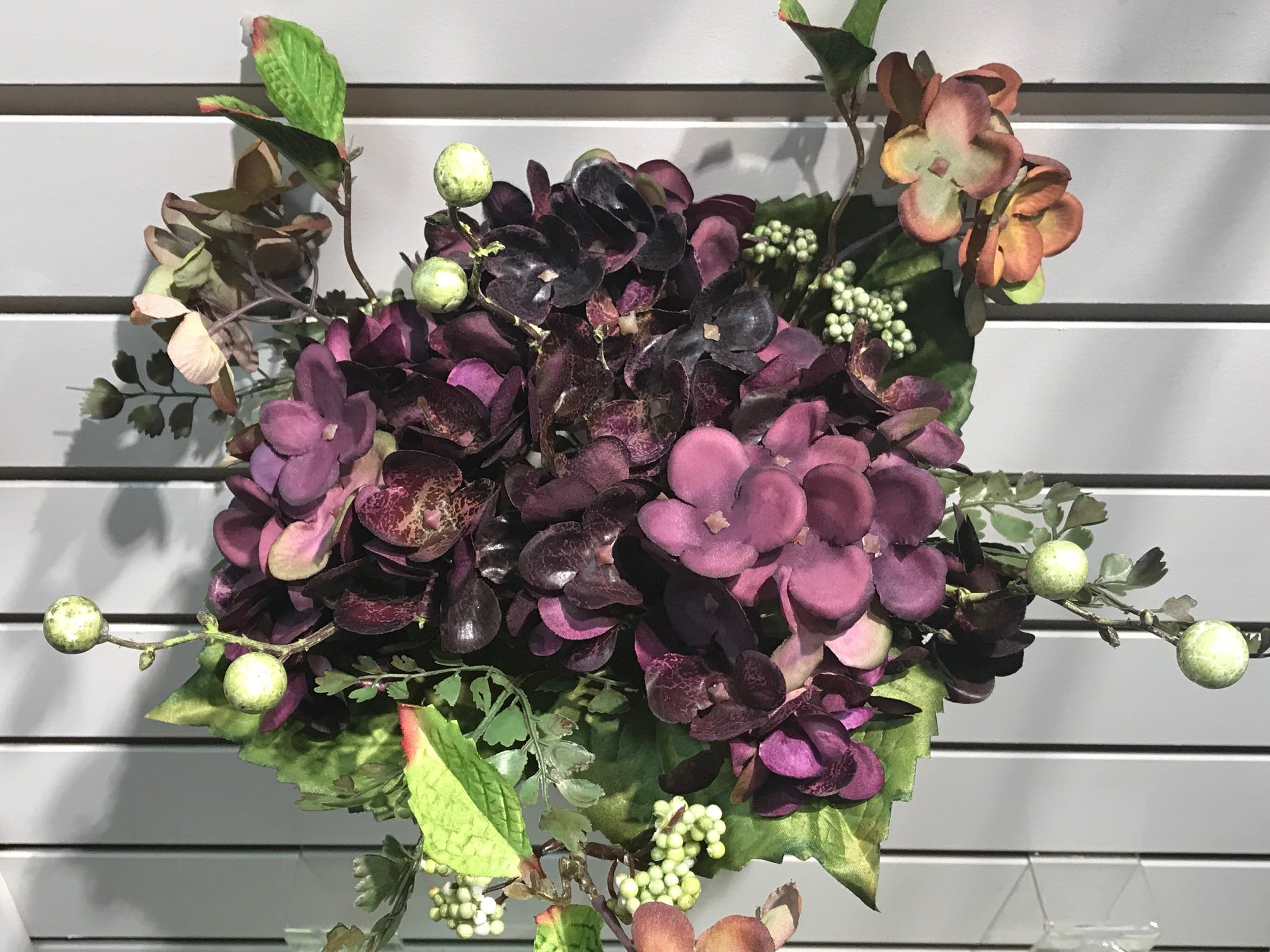 PURPLE FALL MIXED BOUQUET