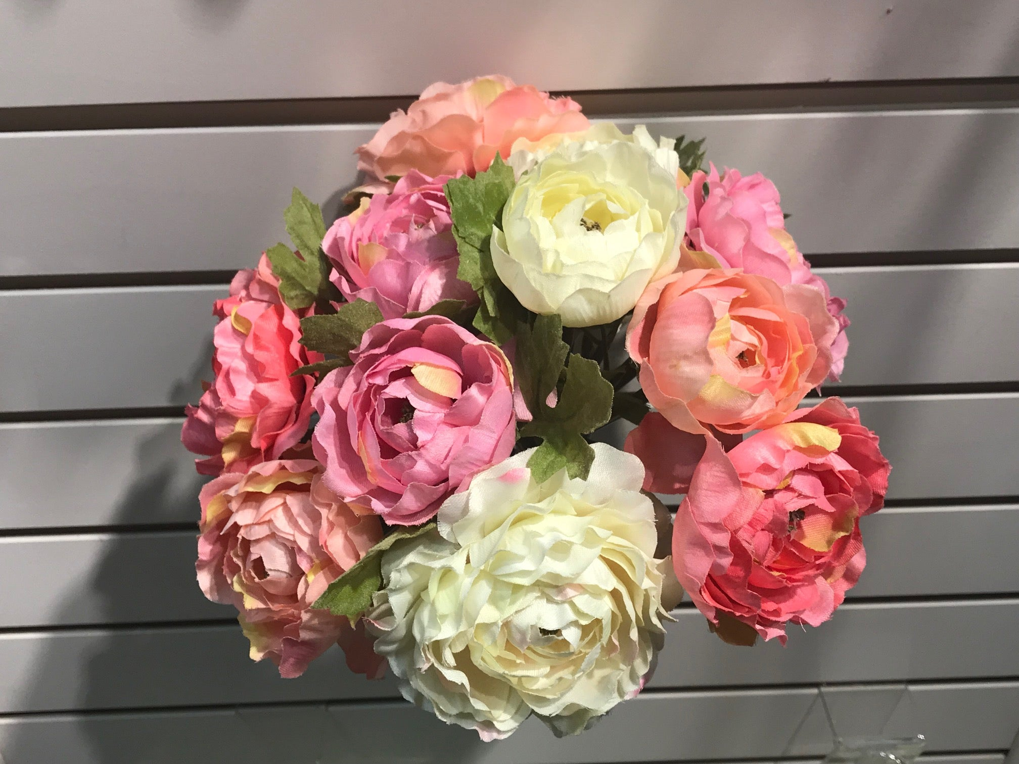 MIXED PINK PEONY BOUQUET