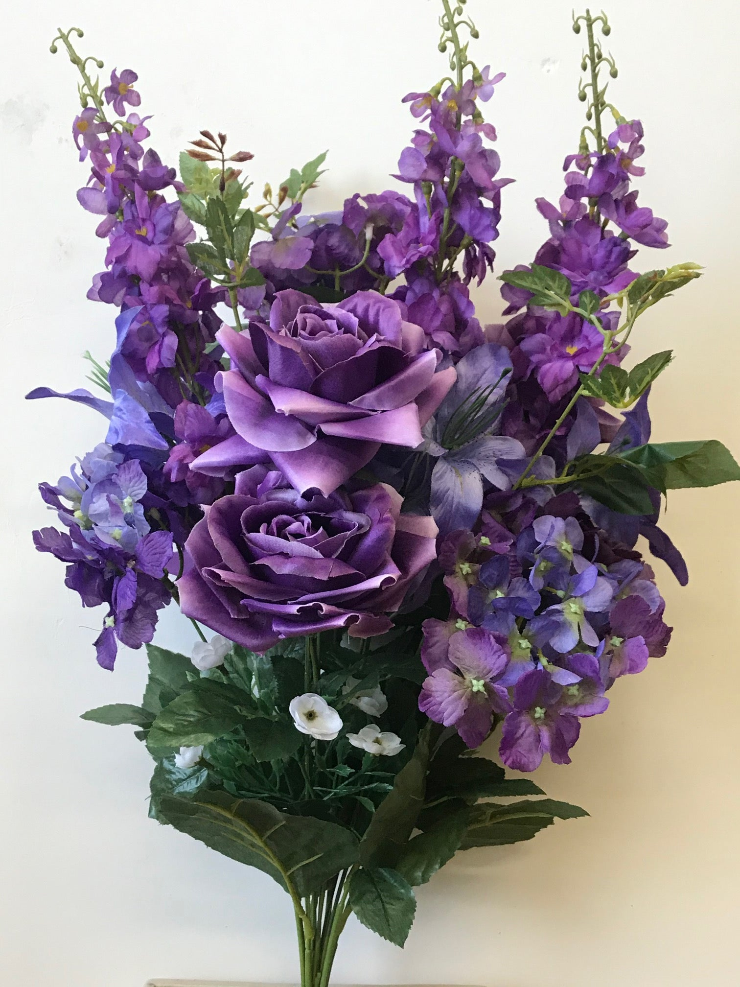 GB53835 PURPLE MIXED BOUQUET