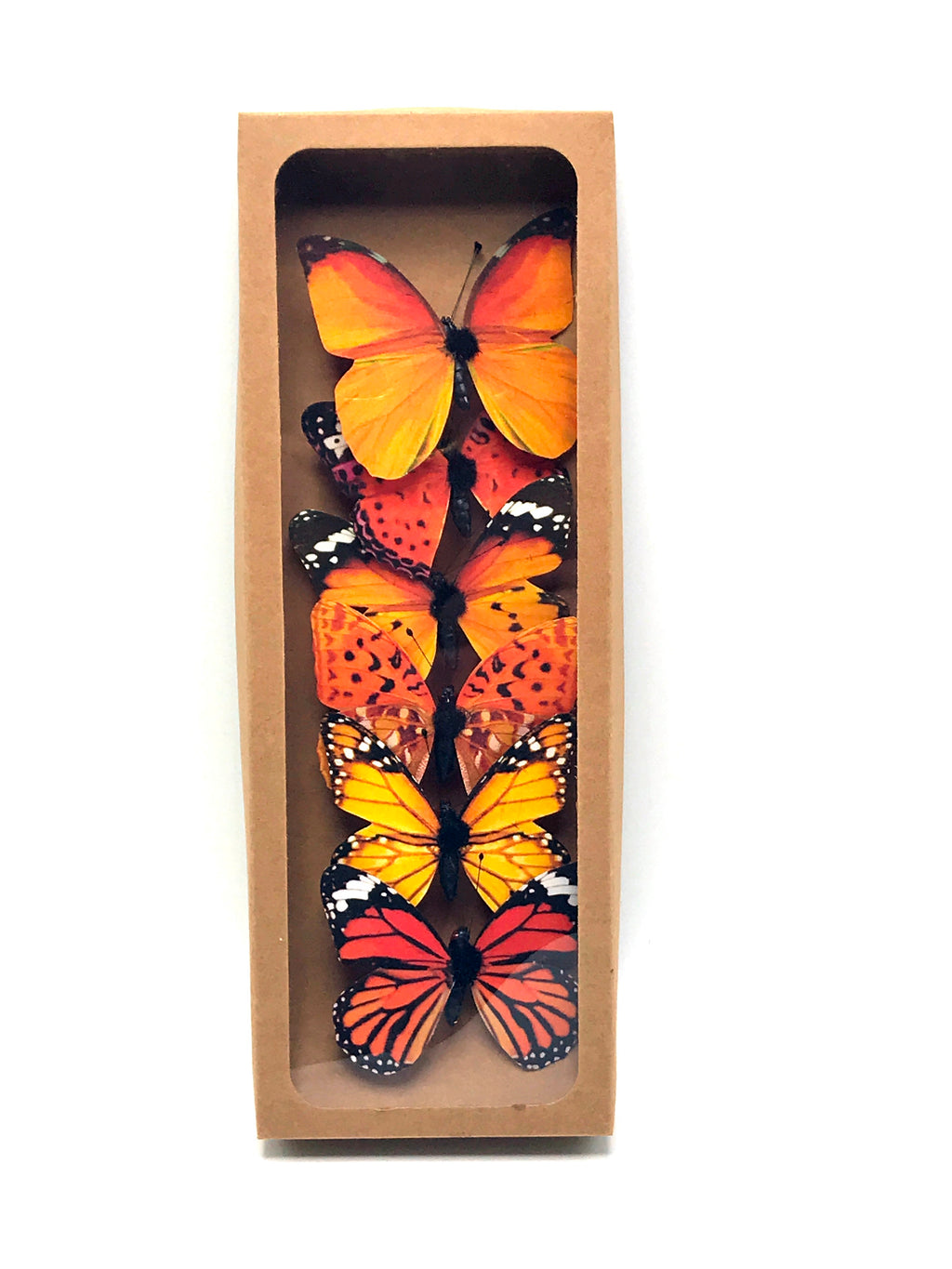 "K506 3"" FABRIC BUTTERFLY BOX OF 6"