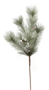 "M411065 24"" FROSTED MIXED PINE SPRAY"