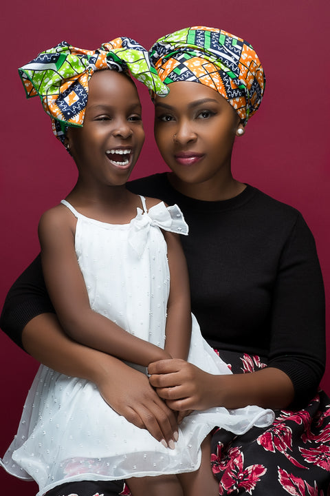 Alicia Mommy & Me Headwrap Set