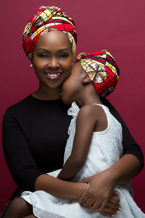 Nefertiri Mommy & Me Headwrap Set