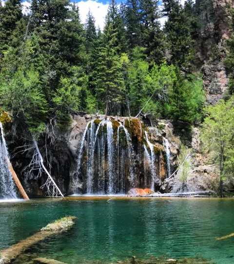 Colorado's Aquamarine Bliss - Hanging Lake