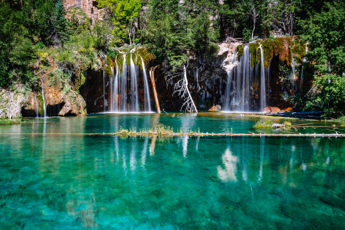 Chasing Waterfalls in Colorado? Rifle Falls and Hanging Lake