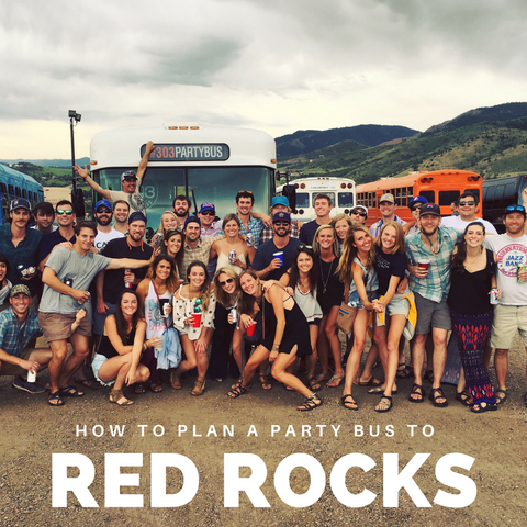 red rocks bus to show