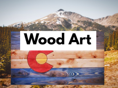 colorado wood art