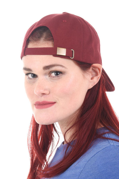 Wild and CO Hats Wild Icon 'Dad Hat' | Unisex | Maroon