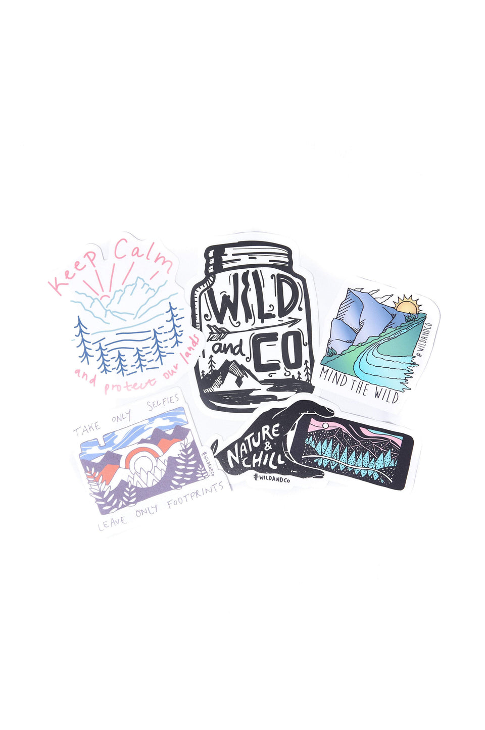 Wild and CO stickers Artist Sticker 4-Pack