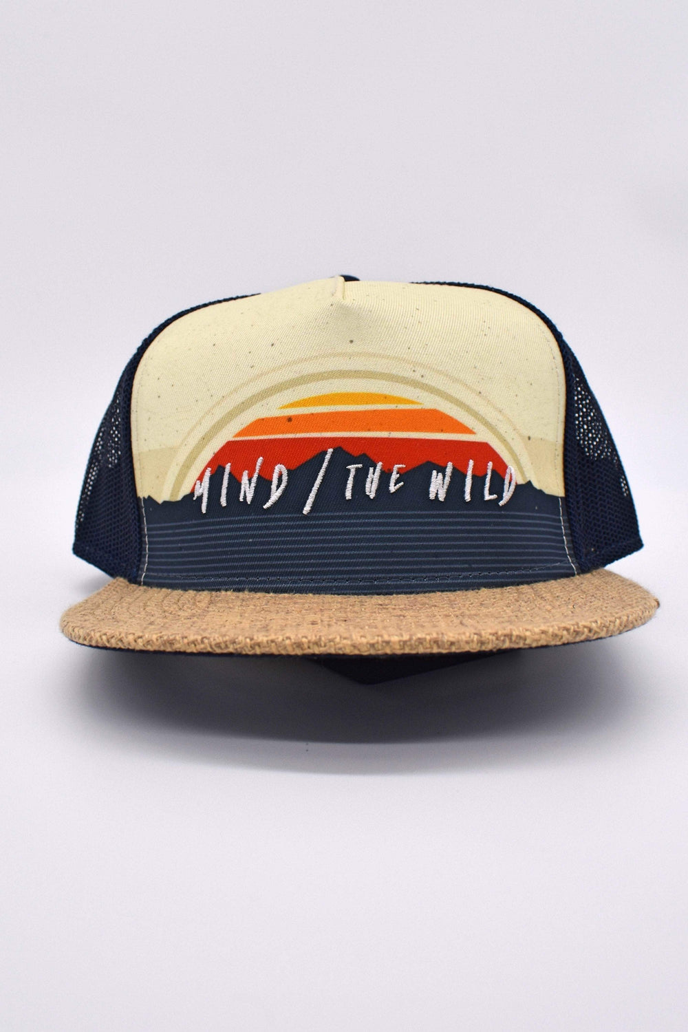 Wild + co Hats Mind the Wild Flat-rim Hat