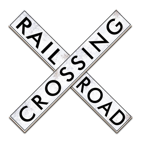 Railroad Crossing 24in
