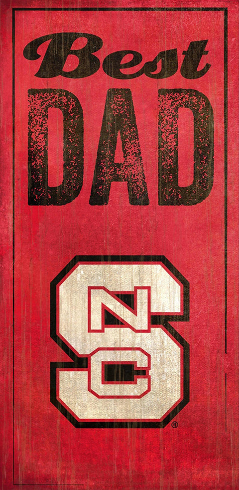 NC State Best Dad Sign