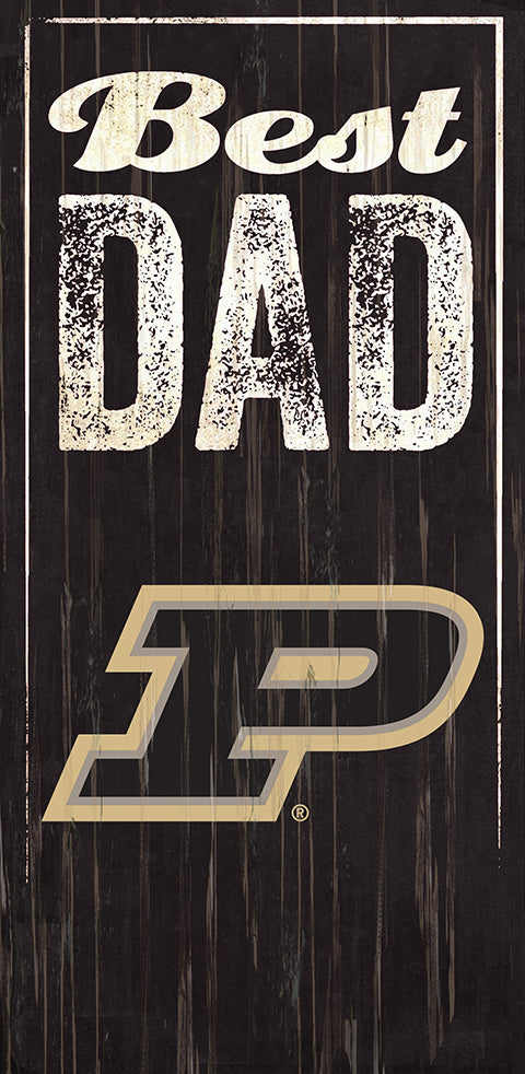 Purdue Best Dad Sign
