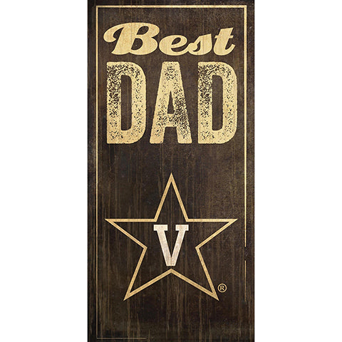 Vanderbilt Best Dad Sign