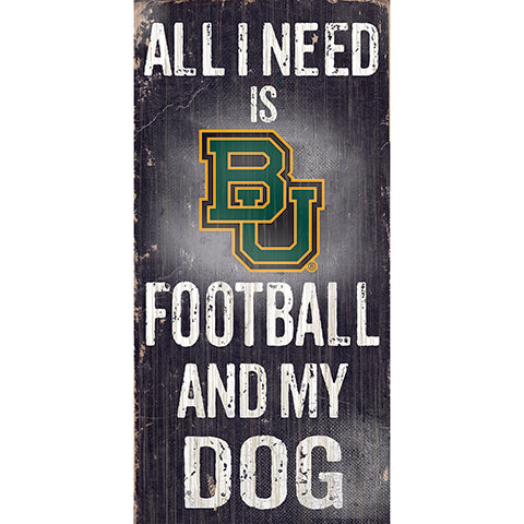 Baylor Football and My Dog Sign