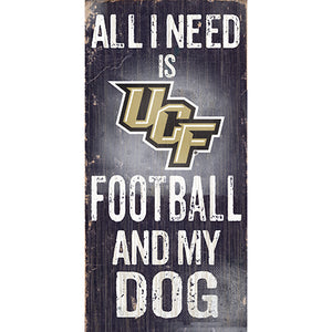 Central Florida (UCF) Football and My Dog Sign