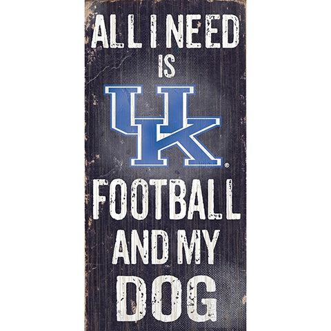 University of Kentucky Football and My Dog Sign