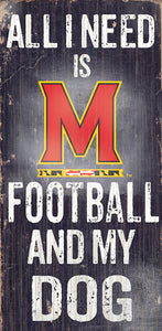 University of Maryland Football and My Dog Sign