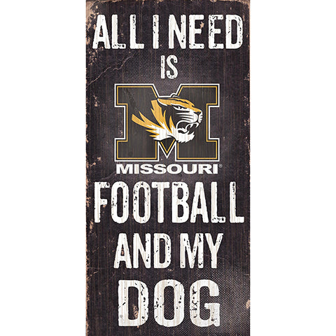 Missouri Football and My Dog Sign