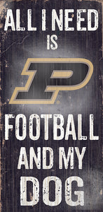 Purdue Football and My Dog Sign
