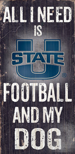 Utah State Football and My Dog Sign
