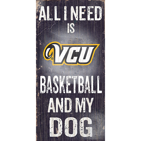VCU Football and My Dog Sign
