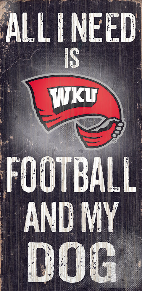 Western Kentucky Football and My Dog Sign