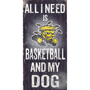 Wichita State Football and My Dog Sign