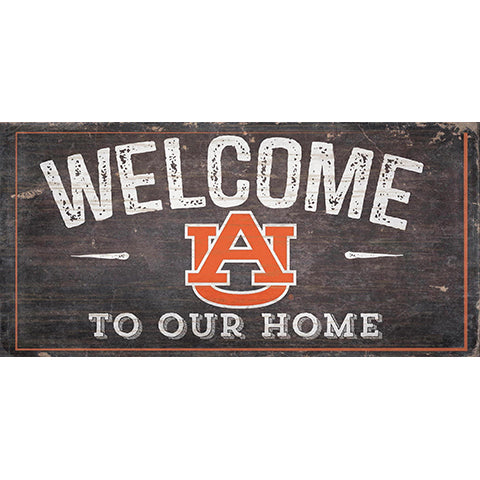 Auburn University Welcome Distressed