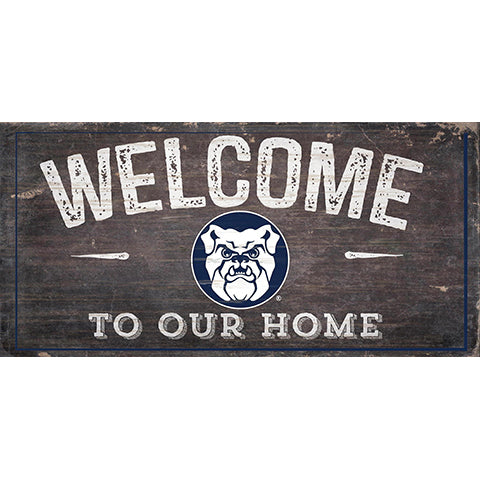 Butler Welcome Distressed 6 x 12
