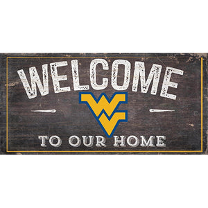 West Virginia University Welcome Distressed