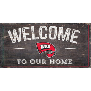 Western Kentucky Welcome Distressed 6 x 12
