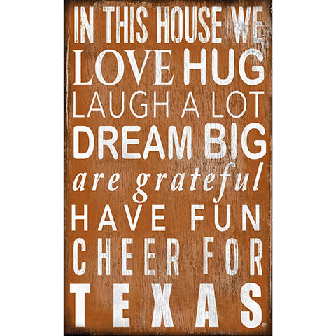 University of Texas In This House Sign