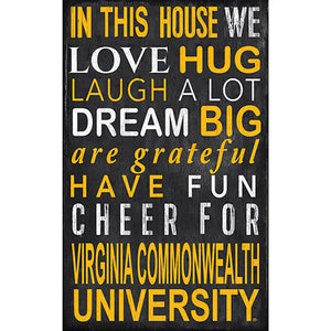 VCU In This House Sign