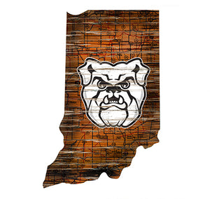 Butler Distressed State with Logo