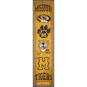 University of Missouri Heritage Banner Vertical 6x24