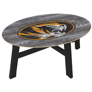University of Missouri Distressed Wood Coffee Table