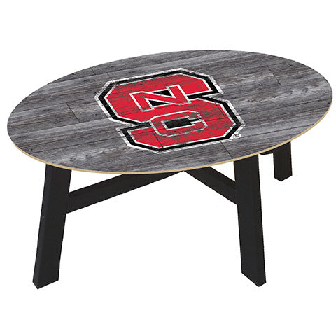 NC State University Distressed Wood Coffee Table