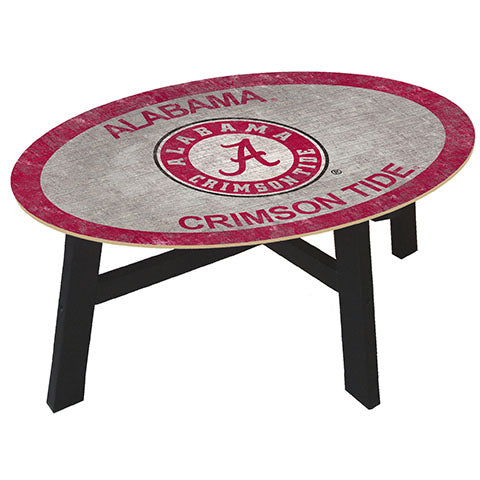 University of Alabama Coffee table with team color