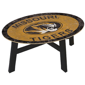 University of Missouri Coffee table with team color