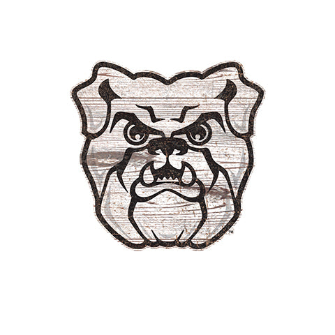 Butler  Distressed Logo Cutout Sign