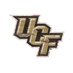 Central Florida (UCF) Distressed Logo Cutout Sign