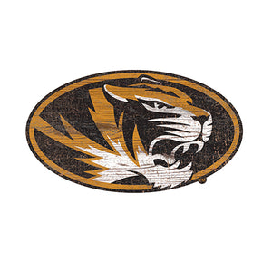 University of Missouri Distressed Logo Cutout Sign