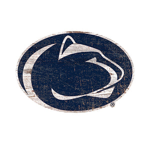 Penn State University Distressed Logo Cutout Sign