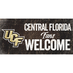 Central Florida (UCF) Fans Welcome Sign